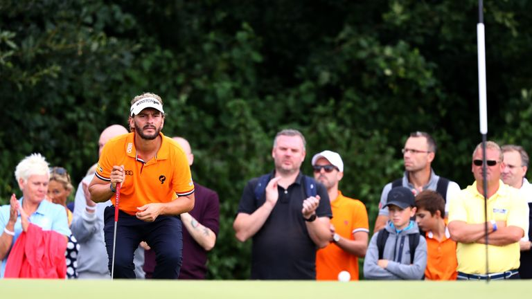 Luiten mixed 10 birdies with two bogeys during the final round