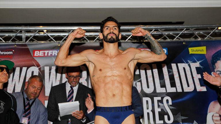 Jorge Linares weighed in lighter than Anthony Crolla