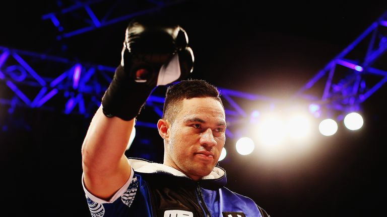 Joseph Parker will battle Alexander Dimitrenko this Saturday on Sky Sports