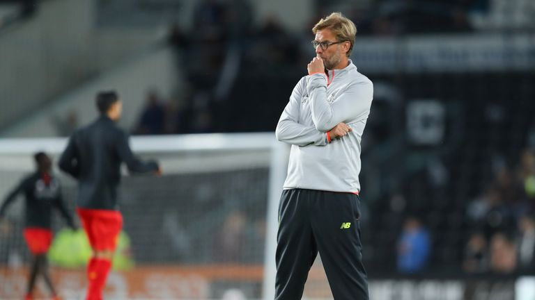 Jurgen Klopp says it is still early days for Liverpool in their quest for the Premier League title