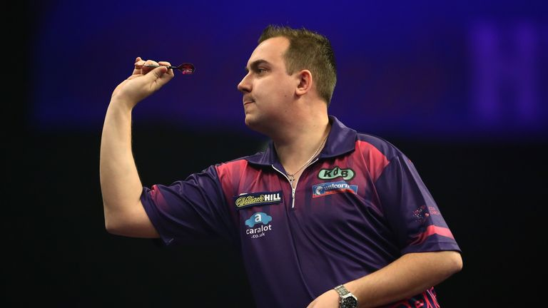 Kim Huybrechts  reached the last-16 at this year's World Darts Championship