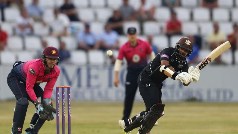 Kumar Sangakkara will now stay at The Oval until 2017