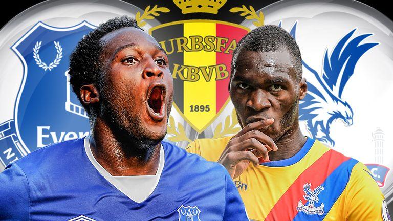 Romelu Lukaku will go head-to-head with Belgium team-mate Christian Benteke