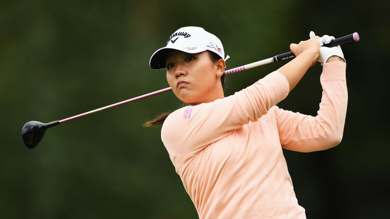 Ko (pictured) and Lang join the likes of Zach Johnson and Ryan Moore to use PXG equipment