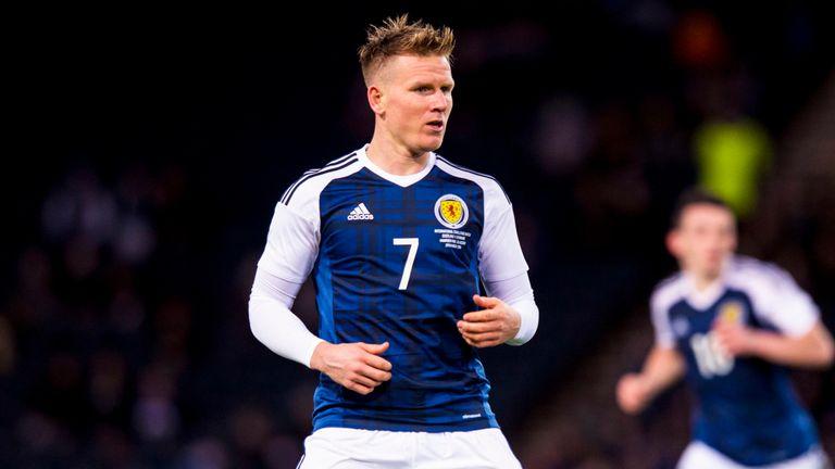 Matt Ritchie has 14 Scotland caps