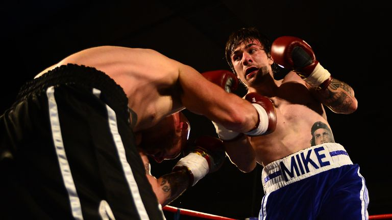 Dundee boxer Mike Towell  died in hospital on 30 September, a day after being knocked down twice in a bout with Dale Evans