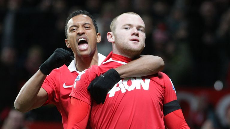 Nani (left) and has backed Wayne Rooney to rediscover his best form