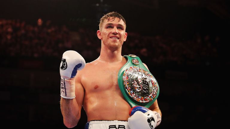 Callum Smith is set to fight Anthony Dirrell for vacant WBC belt