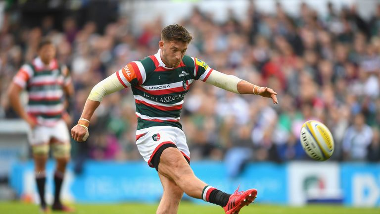 Owen Williams scored 17 points for the Tigers at Welford Road