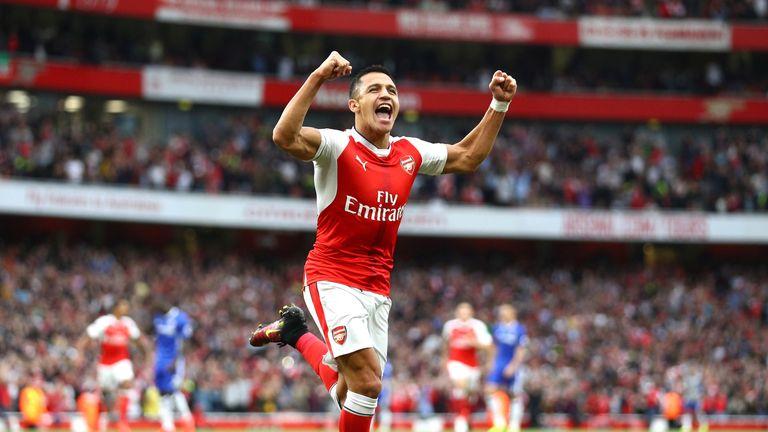 Alexis Sanchez has 20 months left on his contract