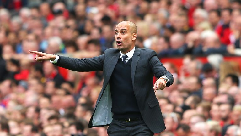 Pep Guardiola has won nine games in a row with Manchester City this season