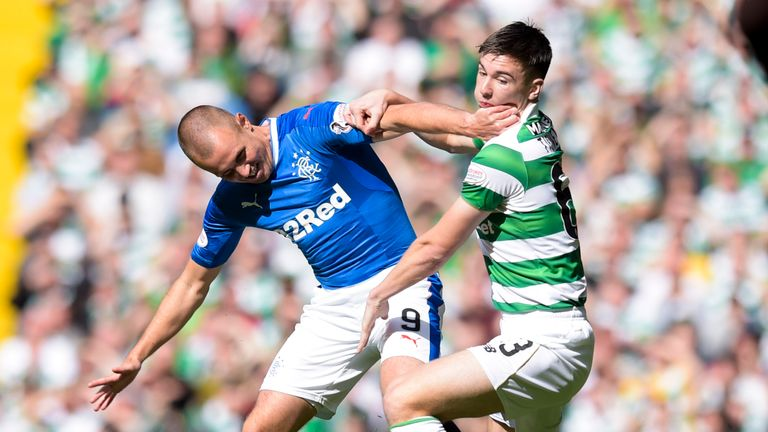 Kenny Miller played in Rangers' 5-1 defeat to Celtic on the same day