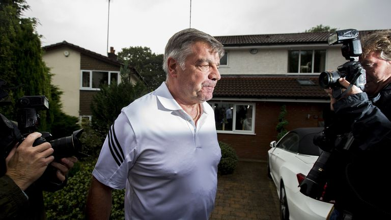 Allardyce left his England post after a newspaper investigation
