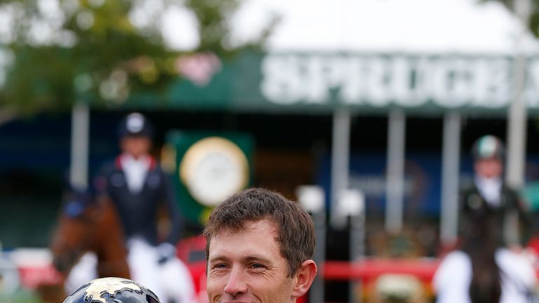 Scott Brash had won Calgary title last year on the way to his Grand Slam triumph