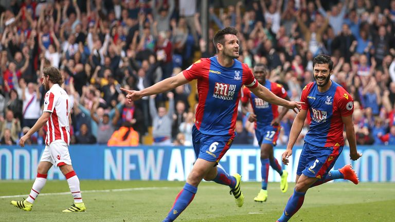 Crystal Palace captain Scott Dann has been ruled out