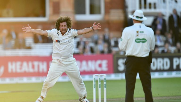 Ryan Sidebottom will be desperate for more wickets for Yorkshire on Friday