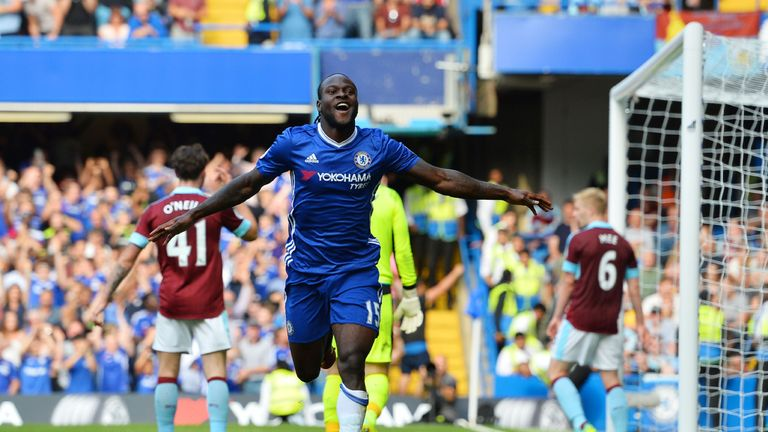 Victor Moses has been a key figure in Chelsea's rise to the top of the Premier League table