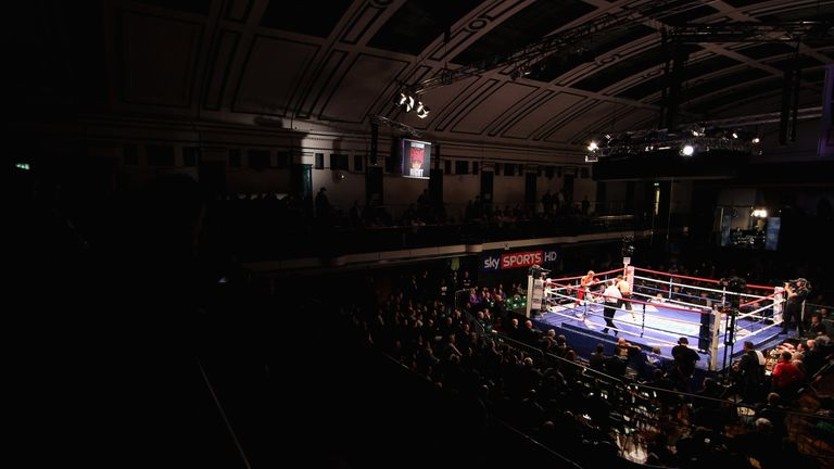 York Hall is still considered the home of British boxing