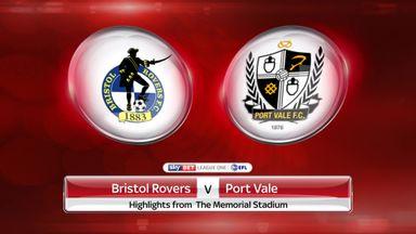 Bristol Rovers 2-1 Port Vale