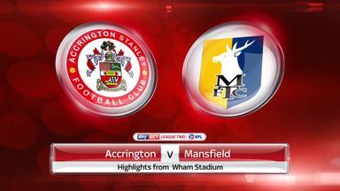Accrington 1-1 Mansfield