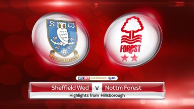 Sheffield Wednesday 2-1 Nottingham Forest