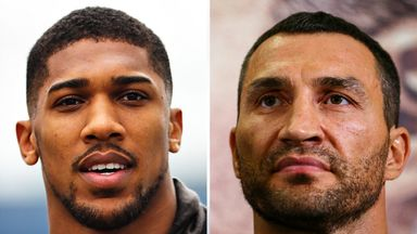 Anthony Joshua and Wladimir Klitschko will have to wait until next year to meet in the ring
