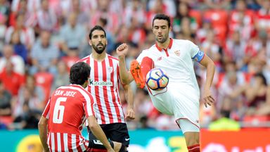 Sevilla's unbeaten start came to an end against Athletic Bilbao
