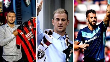 The likes of Jack Wilshere (l), Joe Hart (c) and Alvaro Negredo (r) all feature in our best loan XI of the summer