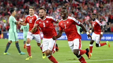 Breel Embolo scored the opening goal as Portugal were humbled by Switzerland