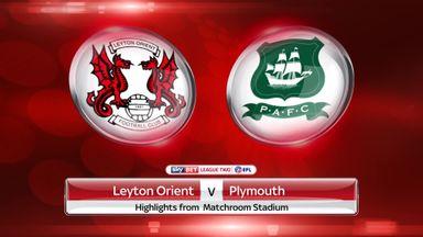 Leyton Orient 0-2 Plymouth