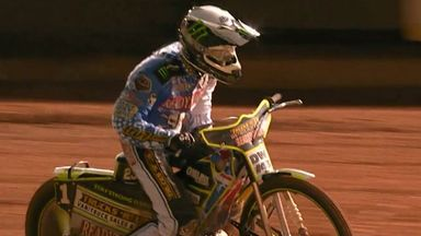 Chris Holder and Poole Pirates are in pole position to claim a place in the Elite League Grand Final