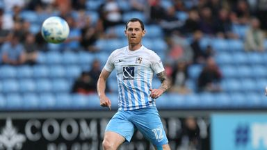 Chris McCann in action for Coventry