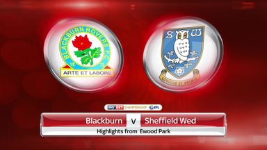 Blackburn 0-1 Sheffield Wed