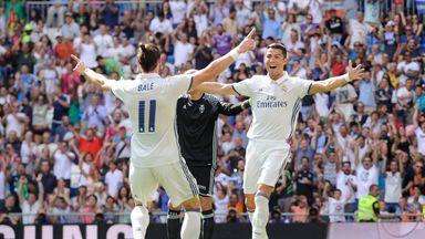 Cristiano Ronaldo and Gareth Bale