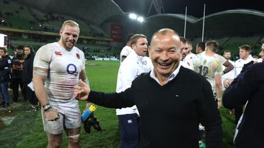 Eddie Jones could stay beyond the World Cup in 2019