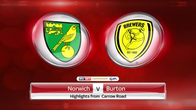 Norwich 3-1 Burton