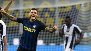 Mauro Icardi Inter Milan's victory over reigning champions Juventus