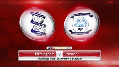 Birmingham 2-2 Preston