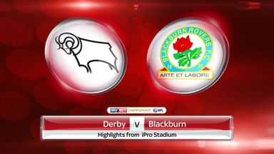 Derby 1-2 Blackburn