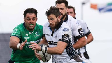 Tommy Seymour scored two tries in Glasgow's impressive win over Connacht