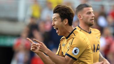 Heung-Min Son scored twice for Tottenham, but did he score the best PL goal of the weekend?