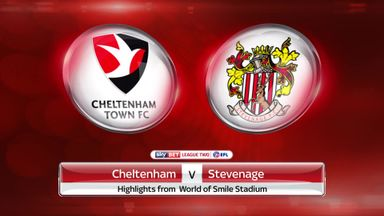 Cheltenham 0-0 Stevenage