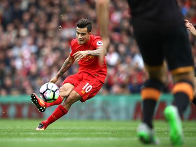 Philippe Coutinho: Reaching peak fitness