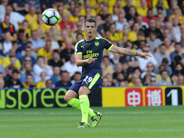 Arsene Wenger Happy With Granit Xhaka's Progress