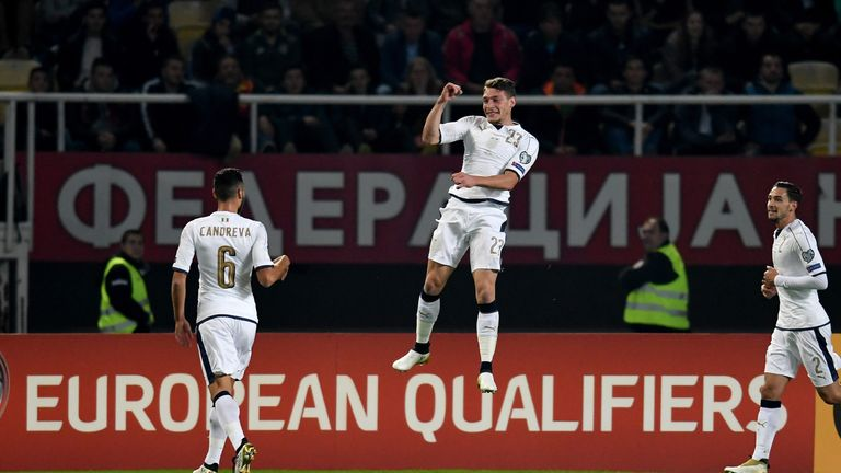 Belotti has scored three goals in five appearances for Italy