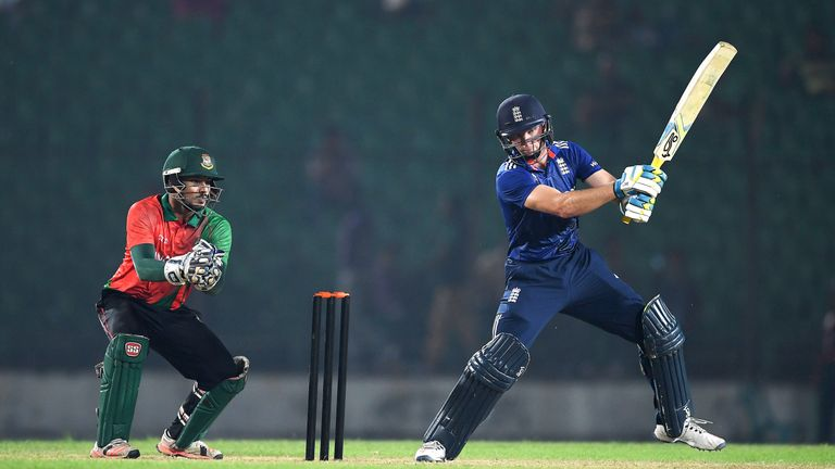 Jos Buttler led England to an ODI series win and will be hoping for a Test recall