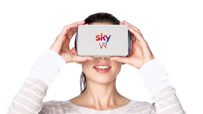 A look at the Sky VR app