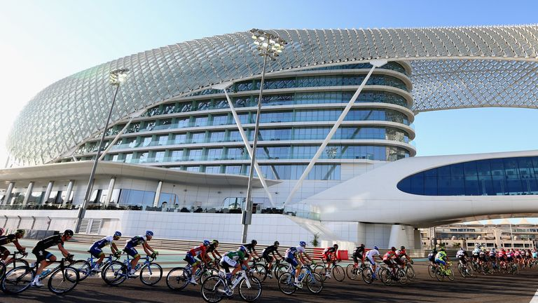The Abu Dhabi Tour is being held for only the second time