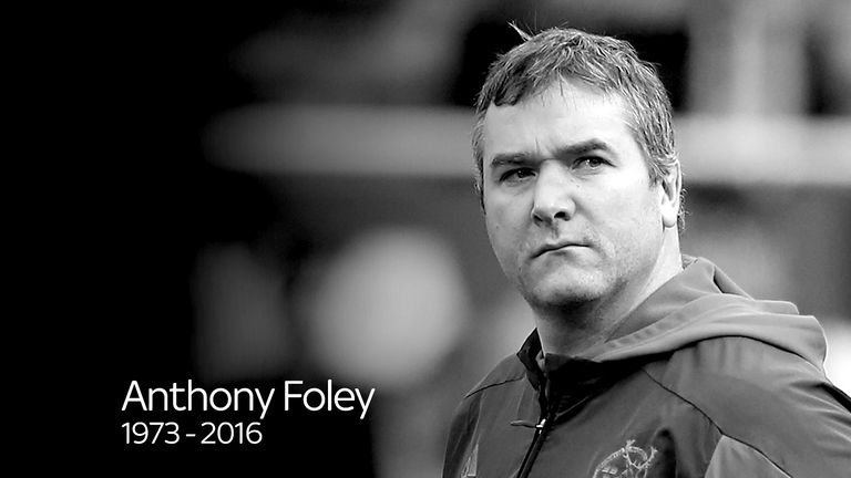 Anthony Foley was tragically found dead in his hotel room in Paris