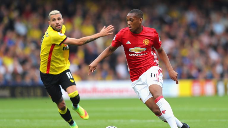 Anthony Martial is back in contention for United